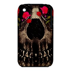 Death And Flowers Apple Iphone 3g/3gs Hardshell Case (pc+silicone)