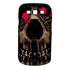 Death and Flowers Samsung Galaxy S III Classic Hardshell Case (PC+Silicone)
