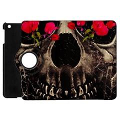 Death And Flowers Apple Ipad Mini Flip 360 Case