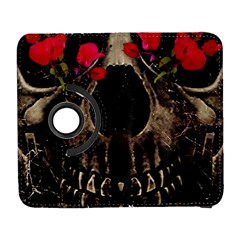 Death and Flowers Samsung Galaxy S  III Flip 360 Case