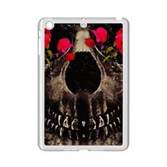 Death and Flowers Apple iPad Mini 2 Case (White)