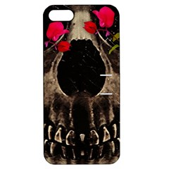 Death And Flowers Apple Iphone 5 Hardshell Case With Stand