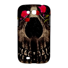 Death and Flowers Samsung Galaxy Grand GT-I9128 Hardshell Case