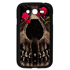 Death and Flowers Samsung Galaxy Grand DUOS I9082 Case (Black)
