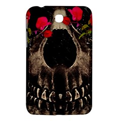 Death And Flowers Samsung Galaxy Tab 3 (7 ) P3200 Hardshell Case