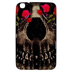 Death and Flowers Samsung Galaxy Tab 3 (8 ) T3100 Hardshell Case