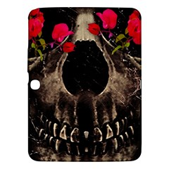 Death and Flowers Samsung Galaxy Tab 3 (10.1 ) P5200 Hardshell Case