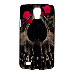 Death and Flowers Samsung Galaxy S4 Active (I9295) Hardshell Case