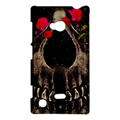 Death and Flowers Nokia Lumia 720 Hardshell Case