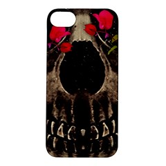 Death and Flowers Apple iPhone 5S Hardshell Case
