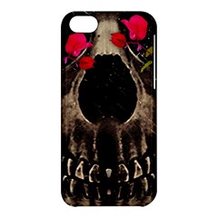 Death and Flowers Apple iPhone 5C Hardshell Case