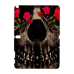Death and Flowers Samsung Galaxy Note 10.1 (P600) Hardshell Case