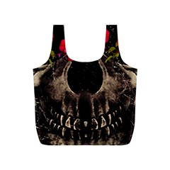 Death and Flowers Reusable Bag (S)