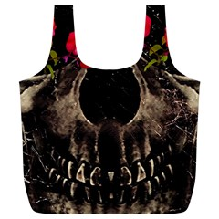 Death and Flowers Reusable Bag (XL)
