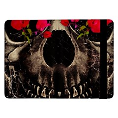 Death and Flowers Samsung Galaxy Tab Pro 12.2  Flip Case