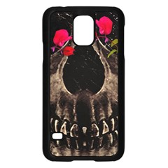 Death and Flowers Samsung Galaxy S5 Case (Black)