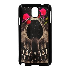 Death and Flowers Samsung Galaxy Note 3 Neo Hardshell Case (Black)