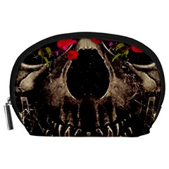 Death and Flowers Accessory Pouch (Large)