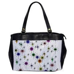 Mod Sparkle Oversize Office Handbag (one Side)