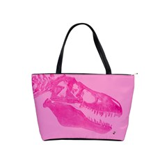 Pink Rex Rules Large Shoulder Bag
