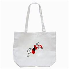 Pin Up Tote Bag (White)