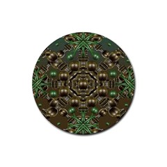 Japanese Garden Drink Coasters 4 Pack (Round)