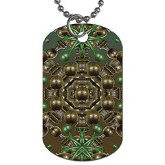 Japanese Garden Dog Tag (two Sided)