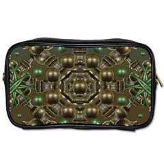 Japanese Garden Travel Toiletry Bag (Two Sides)