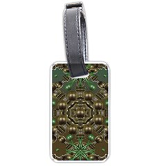 Japanese Garden Luggage Tag (One Side)