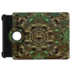 Japanese Garden Kindle Fire HD 7  (1st Gen) Flip 360 Case