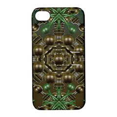 Japanese Garden Apple Iphone 4/4s Hardshell Case With Stand