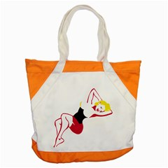 Pin Up Accent Tote Bag