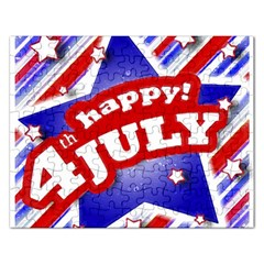 4th of July Celebration Design Jigsaw Puzzle (Rectangle)