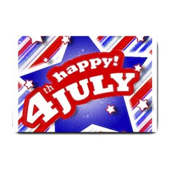 4th Of July Celebration Design Small Door Mat