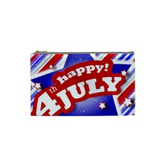 4th Of July Celebration Design Cosmetic Bag (small)