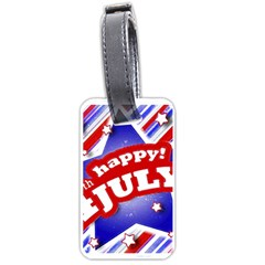 4th of July Celebration Design Luggage Tag (Two Sides)