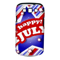 4th Of July Celebration Design Samsung Galaxy S Iii Classic Hardshell Case (pc+silicone)