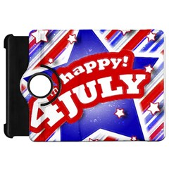 4th Of July Celebration Design Kindle Fire Hd 7  (1st Gen) Flip 360 Case