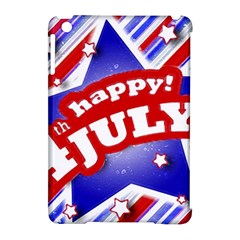 4th of July Celebration Design Apple iPad Mini Hardshell Case (Compatible with Smart Cover)