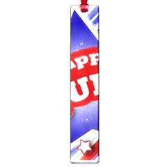 4th of July Celebration Design Large Bookmark