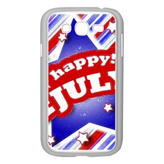 4th of July Celebration Design Samsung Galaxy Grand DUOS I9082 Case (White)