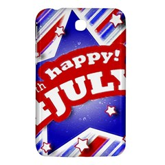 4th of July Celebration Design Samsung Galaxy Tab 3 (7 ) P3200 Hardshell Case