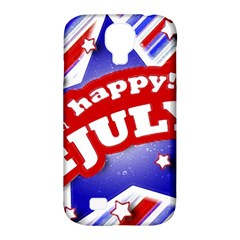 4th of July Celebration Design Samsung Galaxy S4 Classic Hardshell Case (PC+Silicone)