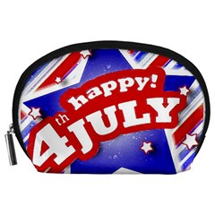 4th of July Celebration Design Accessory Pouch (Large)