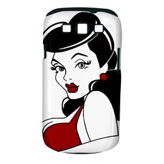 Pin Up Samsung Galaxy S III Classic Hardshell Case (PC+Silicone)