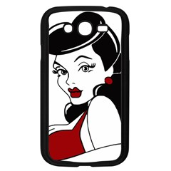 Pin Up Samsung Galaxy Grand DUOS I9082 Case (Black)