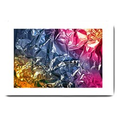 Texture   Rainbow Foil By Dori Stock Large Door Mat