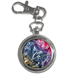 Texture   Rainbow Foil By Dori Stock Key Chain Watch