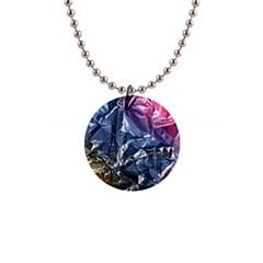 Texture   Rainbow Foil By Dori Stock Button Necklace