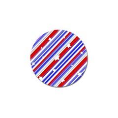 American Motif Golf Ball Marker 10 Pack